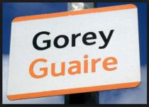 Gorey sign